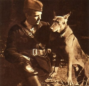 Tito with his dog Luks